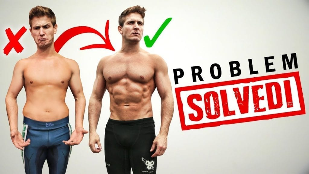how to get shredded from skinnyfat to ripped