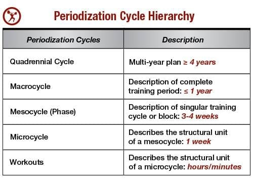 how to periodize training