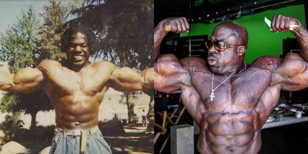 Kali Muscle Before and After