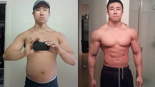 Mike Chang Before and After