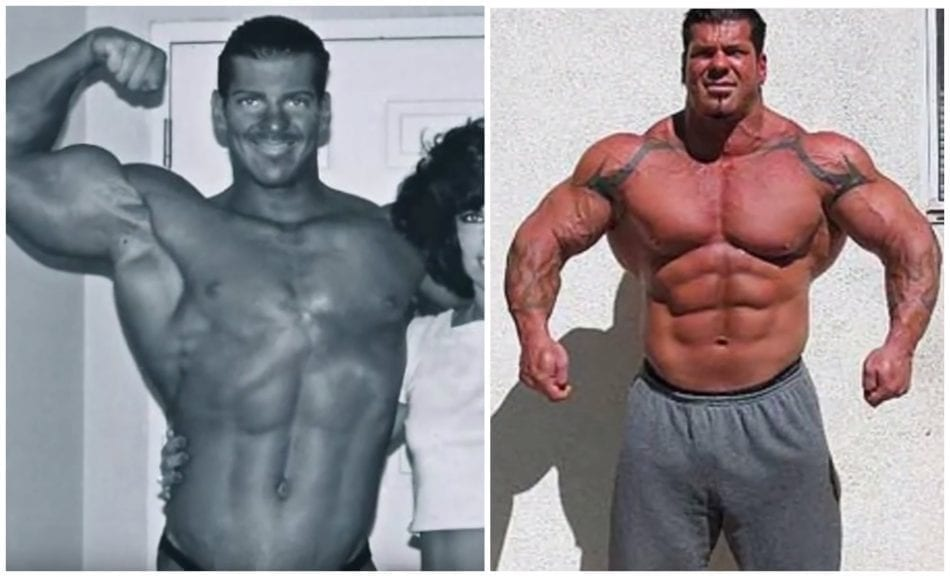 Rich Piana Before and After