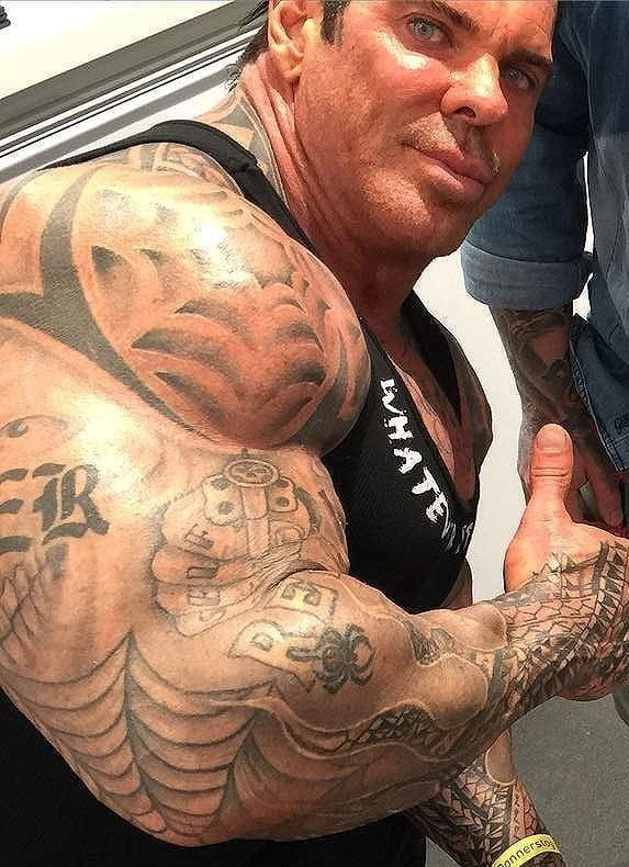 Rich Piana Tattoos