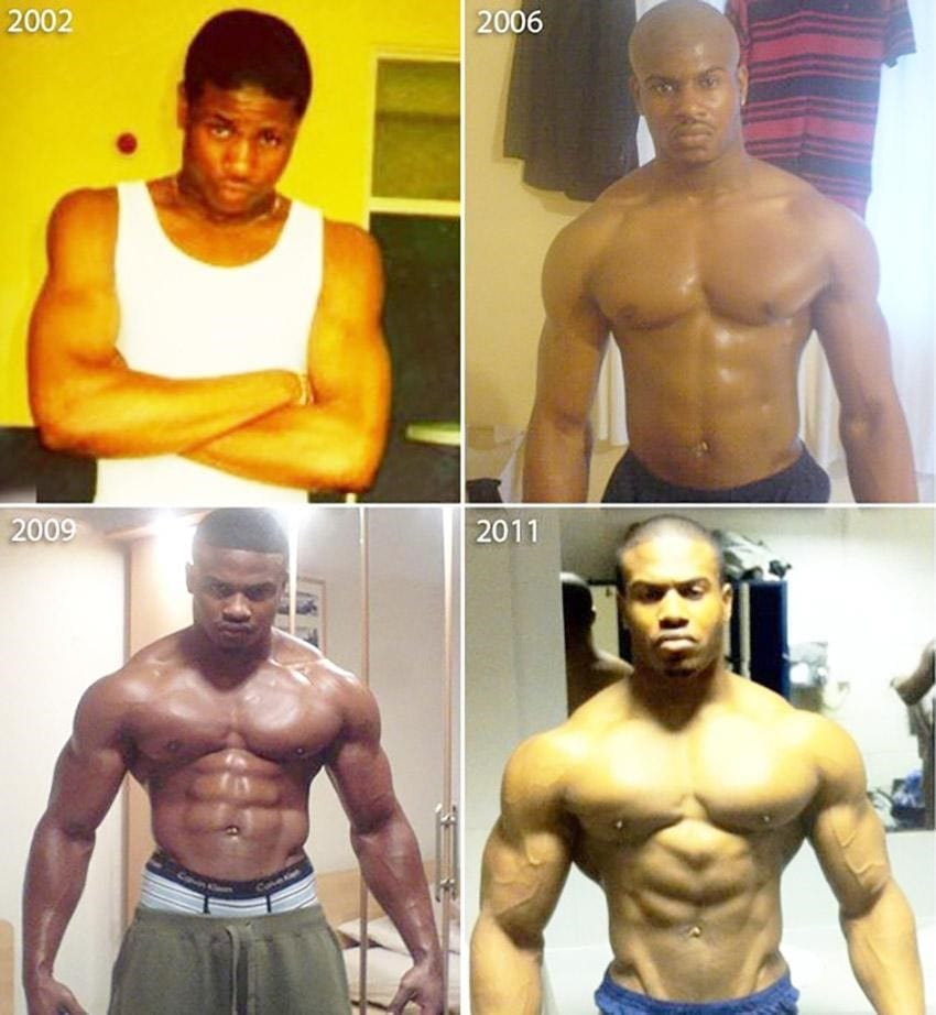 Simeon Panda Before and After