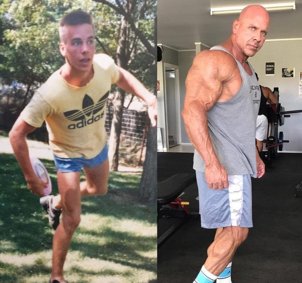 Stan Efferding Before and After Transformation