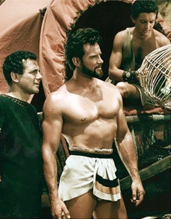 Steve Reeves Before and After Transformation 2