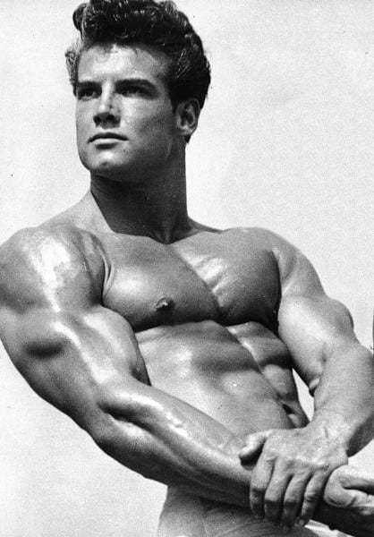 Steve Reeves Before and After Transformation