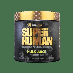 superhuman pre workout