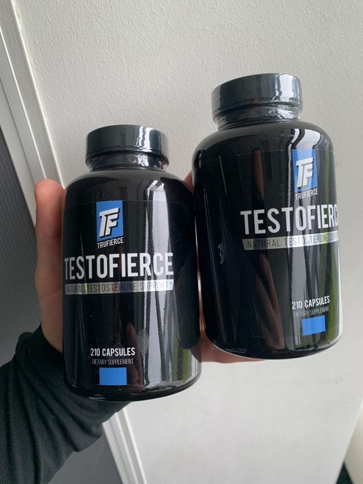 testofierce testosterone booster product