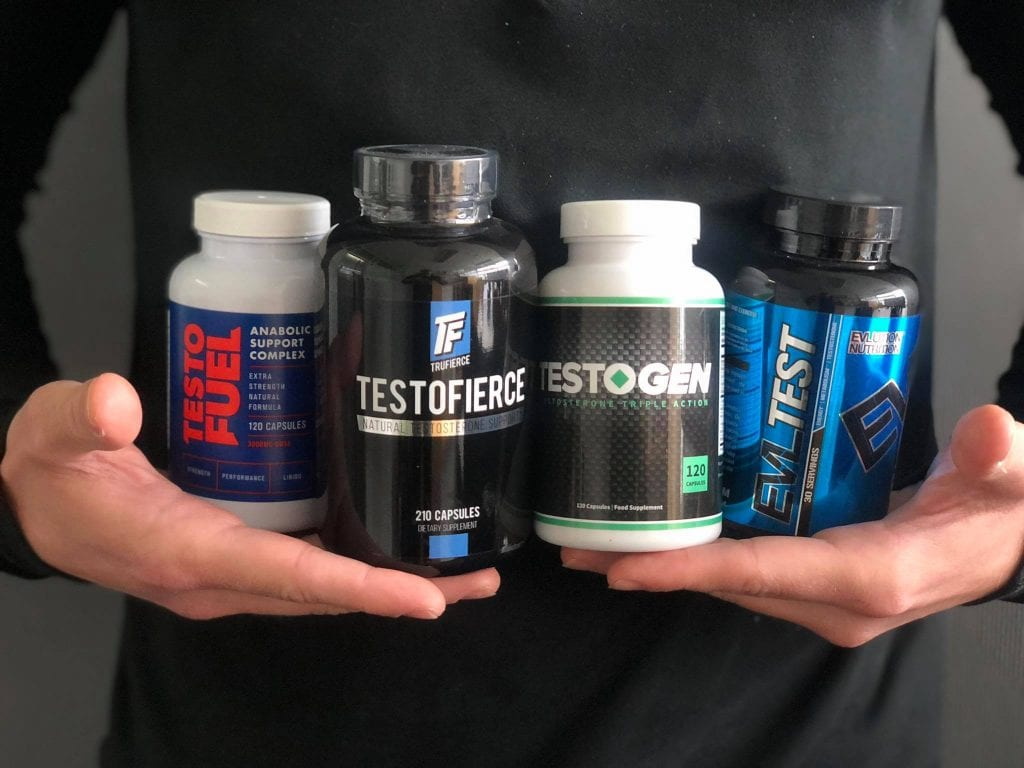 best testosterone boosters products