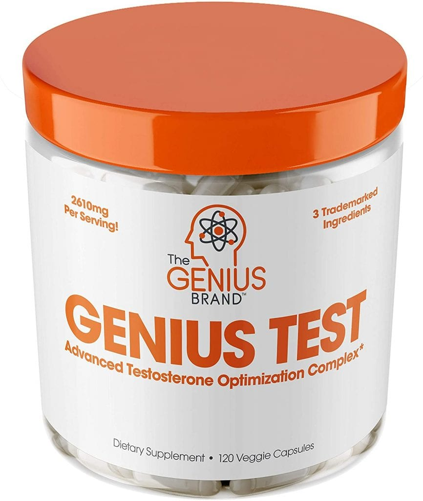 genius test testosterone booster