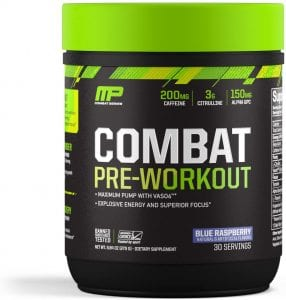 combat pre-workout