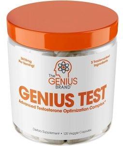 genius test testosterone booster