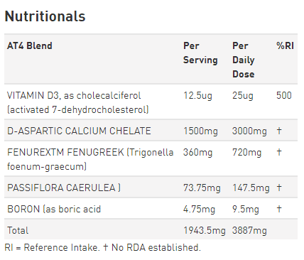 grenade at4 ingredients
