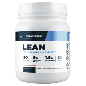 lean by transparent labs