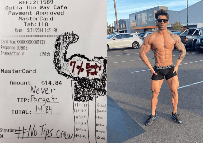 bodybuilder against tipping facebook page