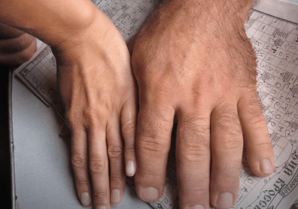 denis cyplenkov hands