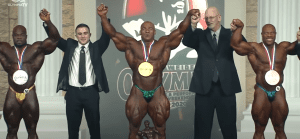 Mr Olympia 2020 results