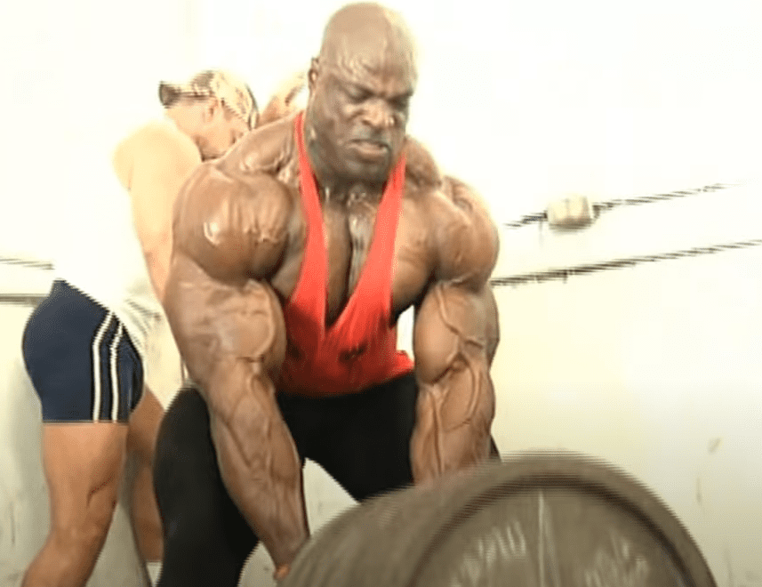 powerlifting back workout ronnie coleman