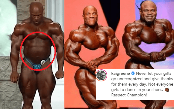Kai greene trolling phil heath