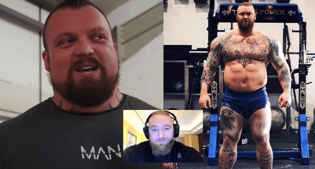 eddie hall responds to hafthor björnsson