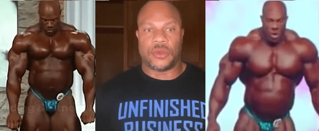 phil heath mr announcing comeback