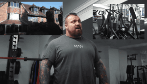 Eddie hall new home gym