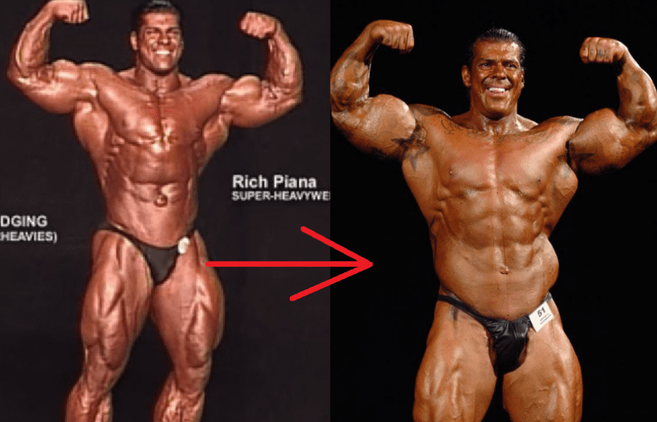rich piana competing in bodybuilding
