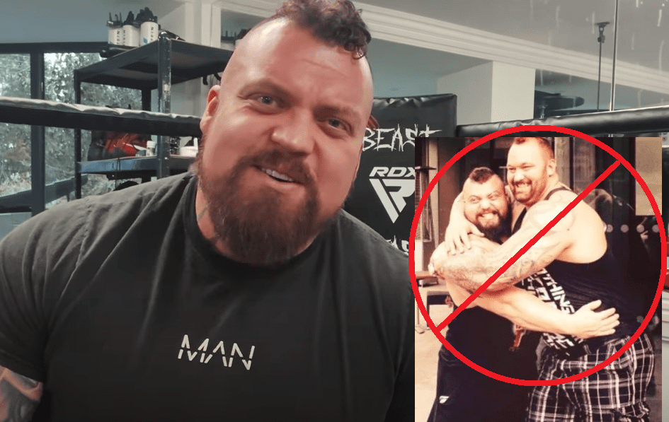 Eddie hall answering question about friendship with thor