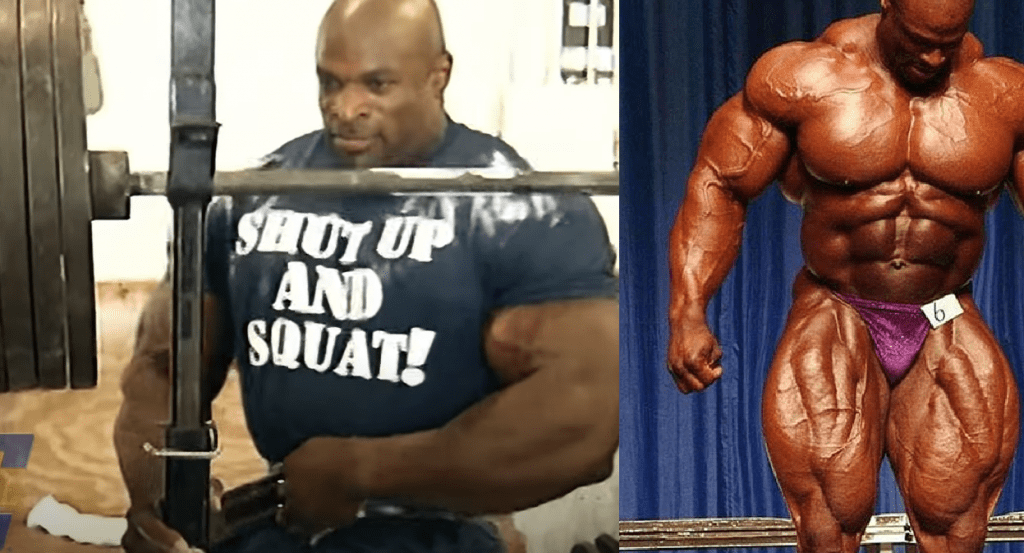 Ronnie coleman leg training