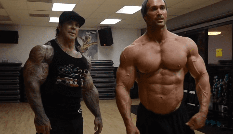 rich piana and mike o'hearn
