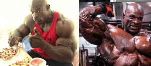Ronnie coleman diet