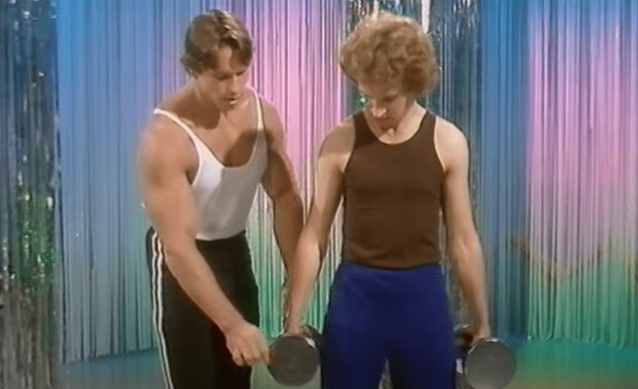 arnold teaching bodybuilding