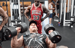 jay cutler training with kali muscle